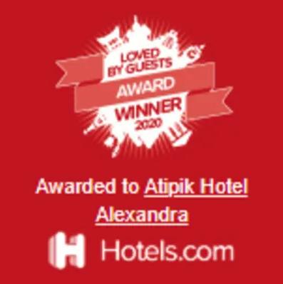 awardeded to Atipik Hotel Alexandra - Hotels.com